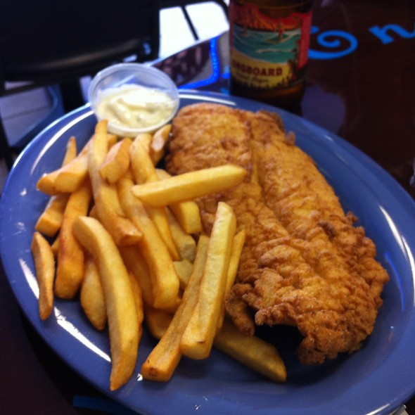Fish and Chips @ Bates New England Seafood