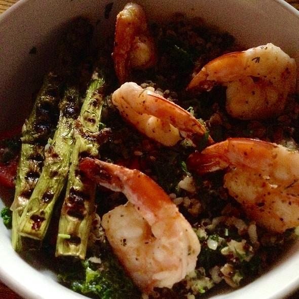 Grain And Kale With Shrimp - Randolph Beer, New York, NY