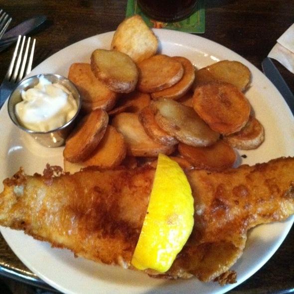 Fish and Chips @ Nine Irish Brothers