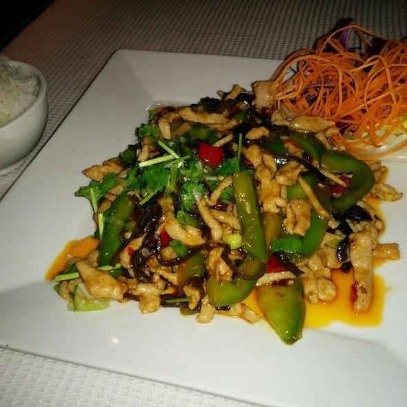 Sweet and Spicy Pork Strips - Cuisine AuntDai, Montreal, QC