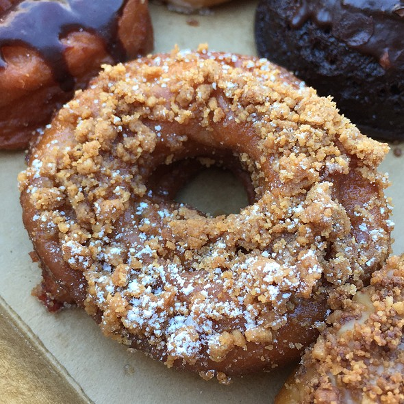 Quince Crumb Donut