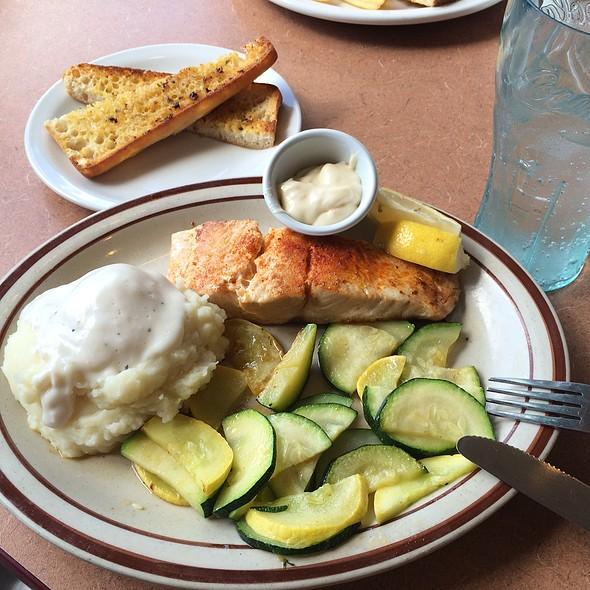 Alaskan Salmon @ Denny's in Clairemont