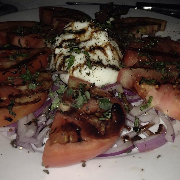 Burrata And Heirloom Tomatoes