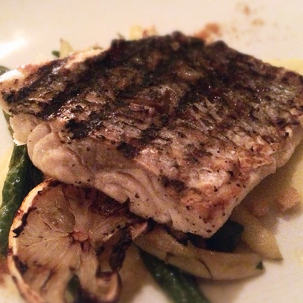 Grilled Wild Striped Bass - Annisa, New York, NY