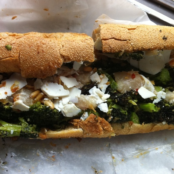 Broccoli Sandwich @ No 7 Sub