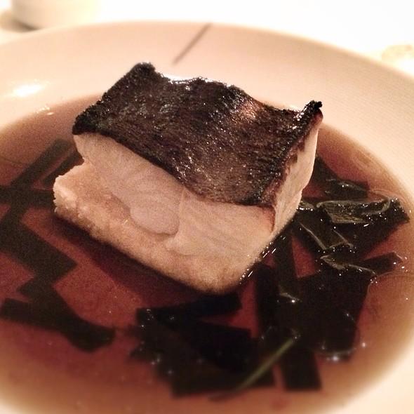 Miso Marinated Sable With Crispy Silken Tofu In A Bonito Broth - Annisa, New York, NY