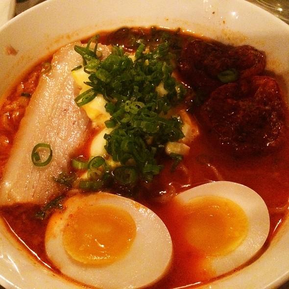 Spicy Red Chili Ramen @ Ivan Ramen