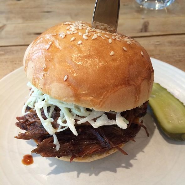 Pulled Pork Sandwich @ The Lockhart