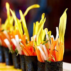 Vegetable Maki Rolls