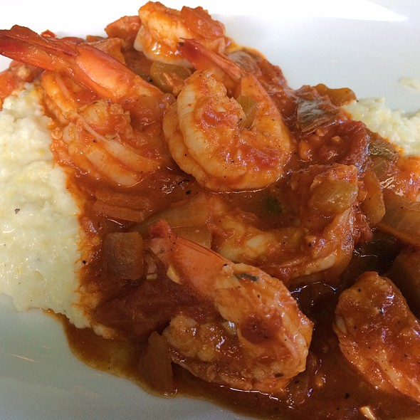 Shrimp & Grits @ Punk's Simple Southern Food