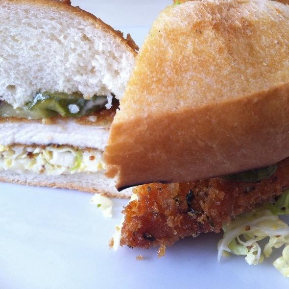 Crispy Chicken Sandwich @ Summer Kitchen Bake Shop