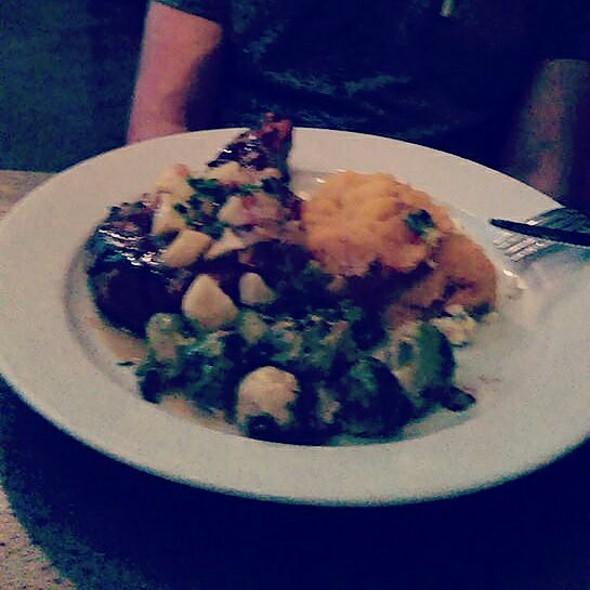 Pork Chop And Sweet Potatoes! @ Ella's Americana Folk Art Cafe