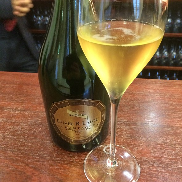 Champagne @ G.H. Mumm