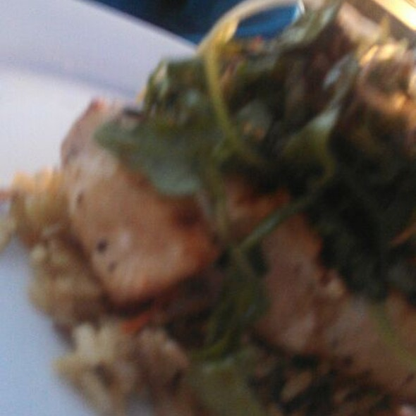 Swordfish With Crab Topping - ELA'S On the Water, Hilton Head Island, SC