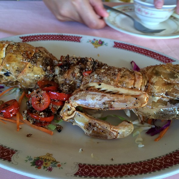 Salt And Pepper Mantis Prawn @ Lamma Island, Hong Kong