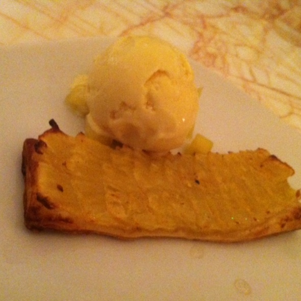 Pineapple Galette, Pandan, Coconut Ice Cream @ NOPI