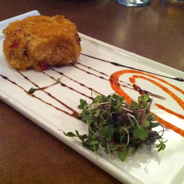 Asian Crunchy Crab Cake - Brickside Grille, Exton, PA