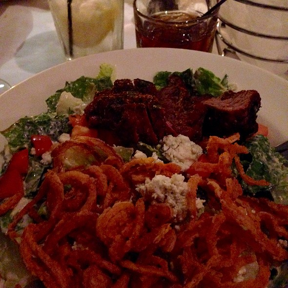 Black and Blue Salad - Brighton Bar and Grill, Brighton, MI