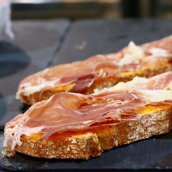 Iberico Ham & Tomato Toast @ Hondar