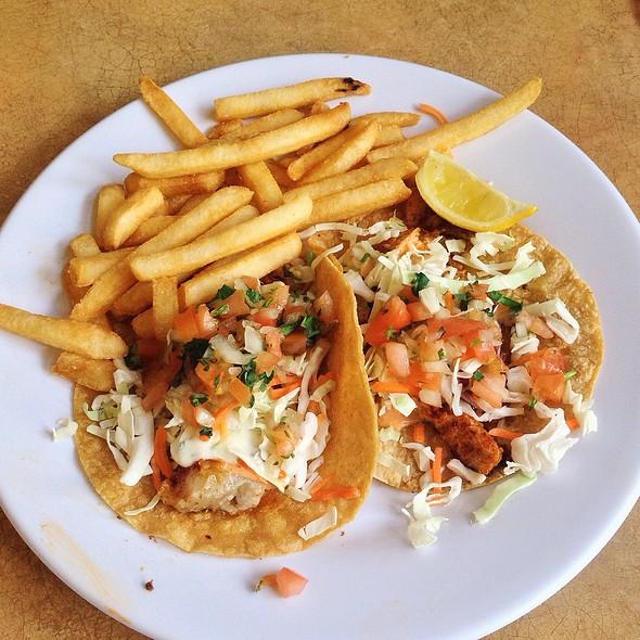 fish tacos @ The City Fish