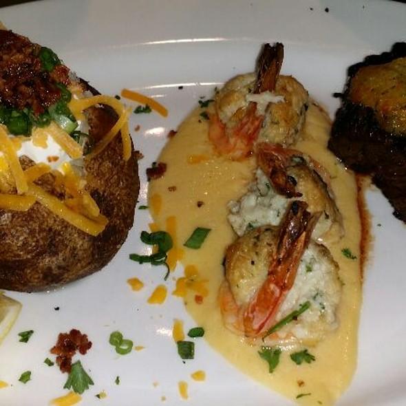 Parmesan Steak And Shrimp - Johnny's Italian Steakhouse - Middleton, Middleton, WI