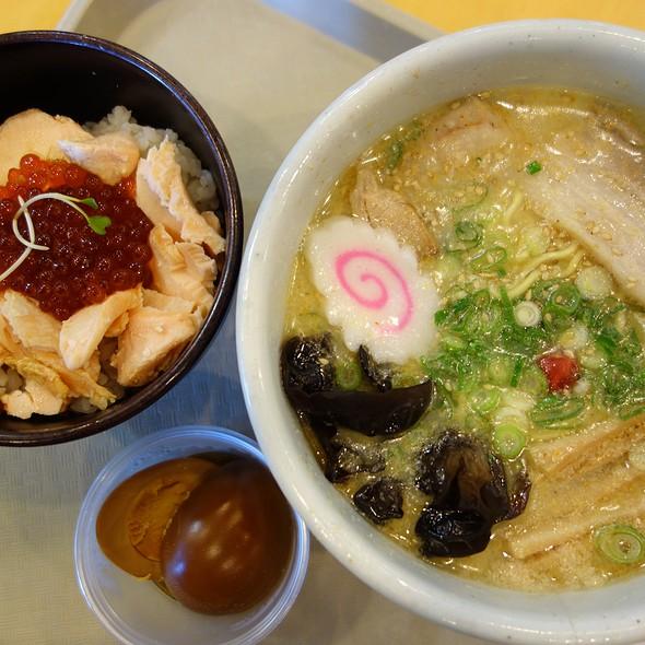 Shio Ramen + Ikura Gohan