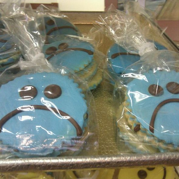 Grouchy Face Cookie @ sluys bakery