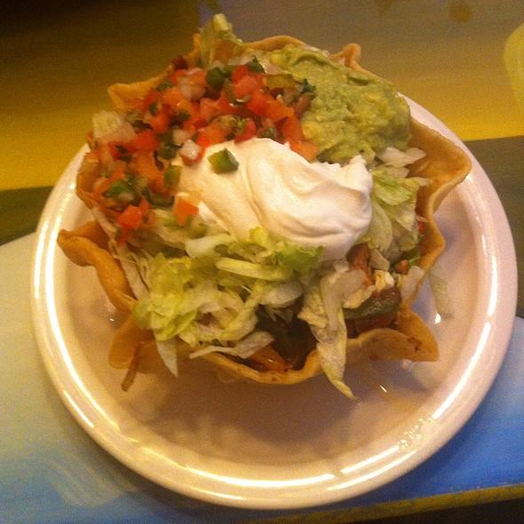 Taco Salad Fajitas At El Patio Mexican Grille