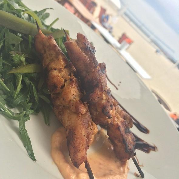 Harissa Chicken Skewers @ West Bathers Pavillion
