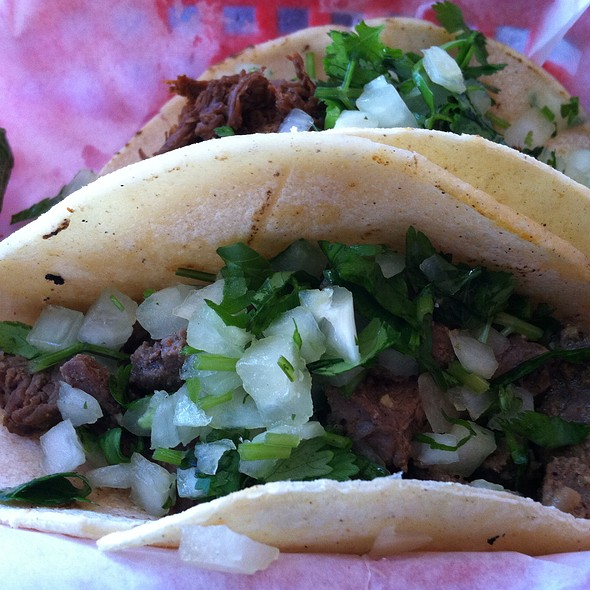 Soft Tacos @ Tia Cori's Tacos