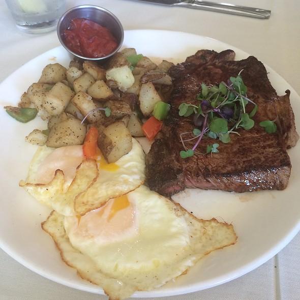 Spiced Bistro Steak And Eggs - Corner Bistro & Wine Bar, Jacksonville, FL