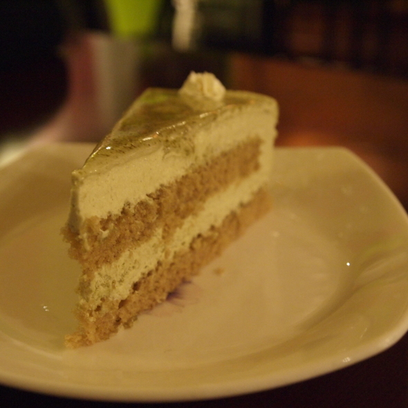 Green tea Cake @ cafe aries