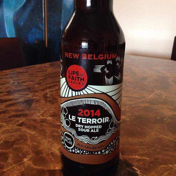 New Belgium Lips Of Faith 2014 Le Terroir