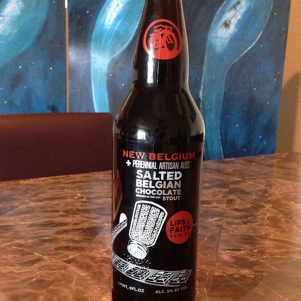 New Belgium Lips Of Faith Salted Belgian Chocolate Stout