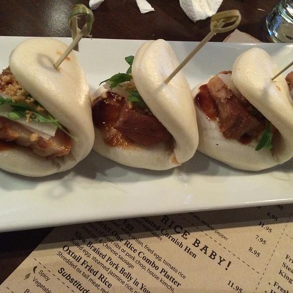 Pork Belly Buns @ District One Kitchen & Bar