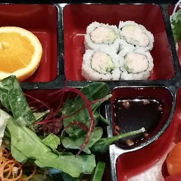 Sushi And Sushimi Bento  - The Blue Fish - Las Colinas, Irving, TX
