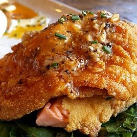 Corn Encrusted Trout