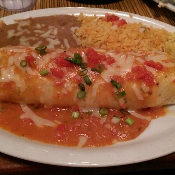 Chicken Burrito @ El Torito Mexican Grill