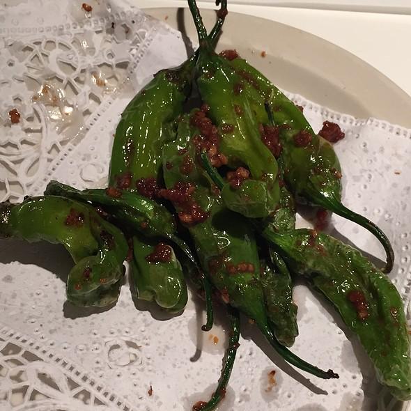 Garlic Shishito Peppers @ Sushi House of Taka