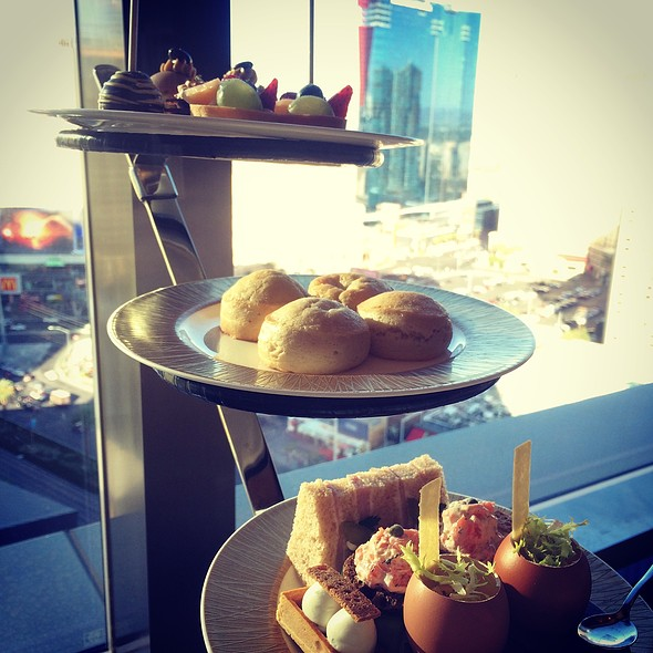 Afternoon Tea Assorted Pastries @ Mandarin Oriental Hotel, Las Vegas