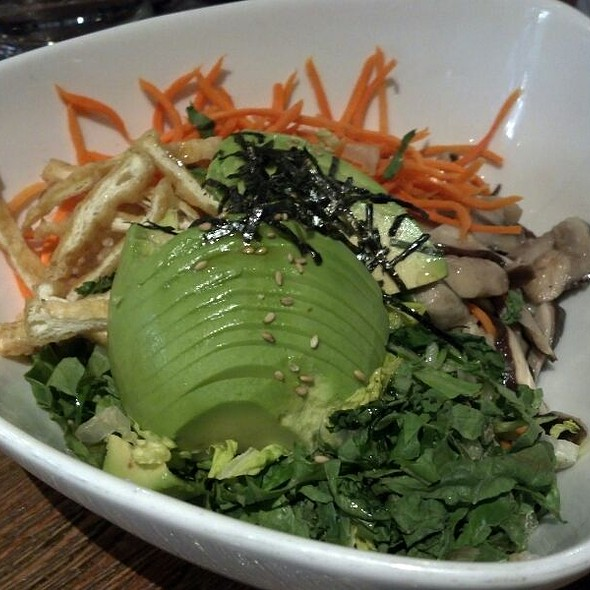 Avocado Bibimbap @ Franchia Teahouse & Restaurant