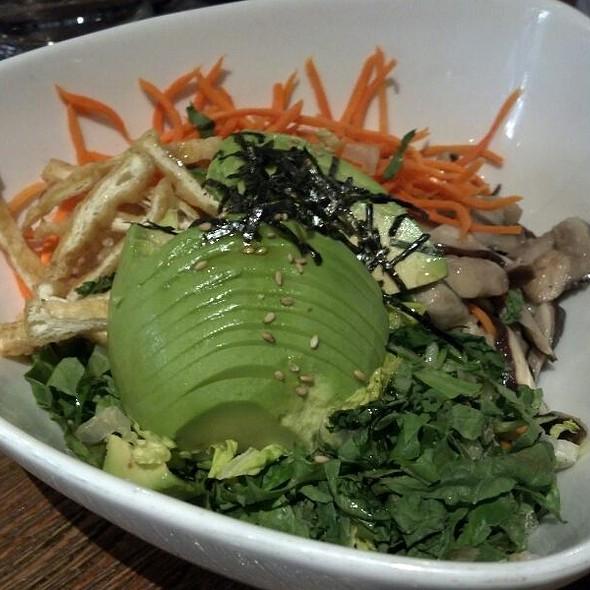 Avocado Bibimbap @ Franchia Teahouse & Restaurant
