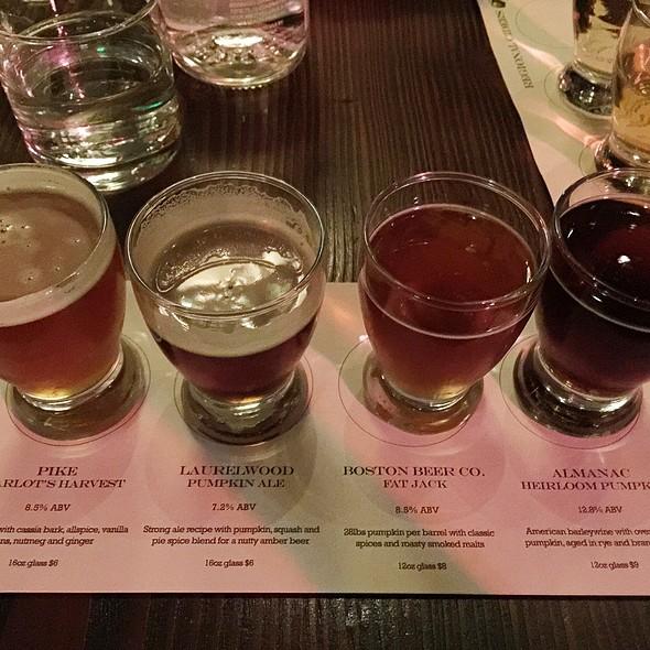 Pumpkin Beer Flight @ Capitol Cider