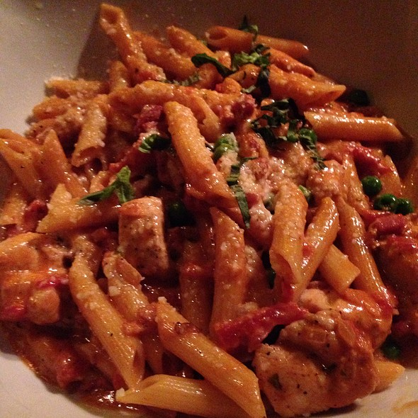 Penne Alla Vodka With Chicken