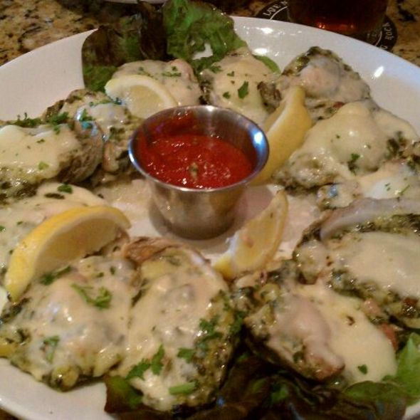 Oysters Rockefeller - Stone Werks - The Rim, San Antonio, TX