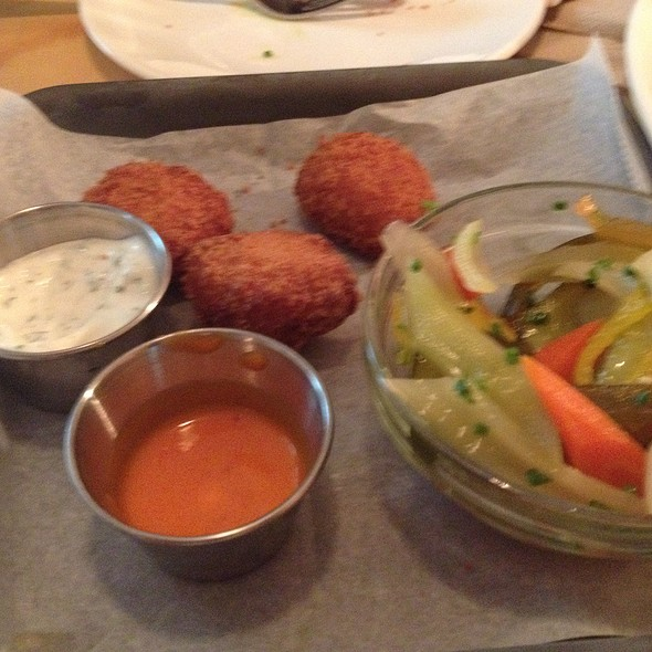 Whitefish Croquettes @ Old Standard Fried Chicken