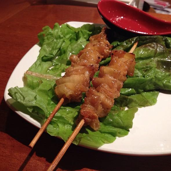 Chicken Skin Yakitori @ Sake Bar Hagi