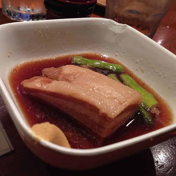 Braised Pork Belly @ Sake Bar Hagi