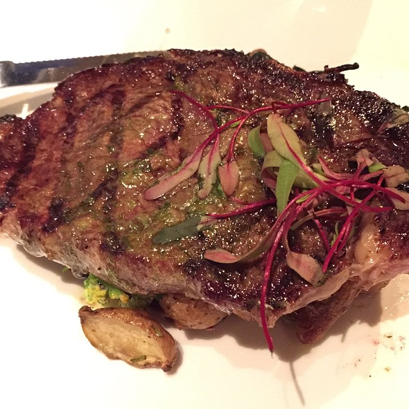 Grilled Grassfed Ribeye - Restaurant Nor, Washington, DC