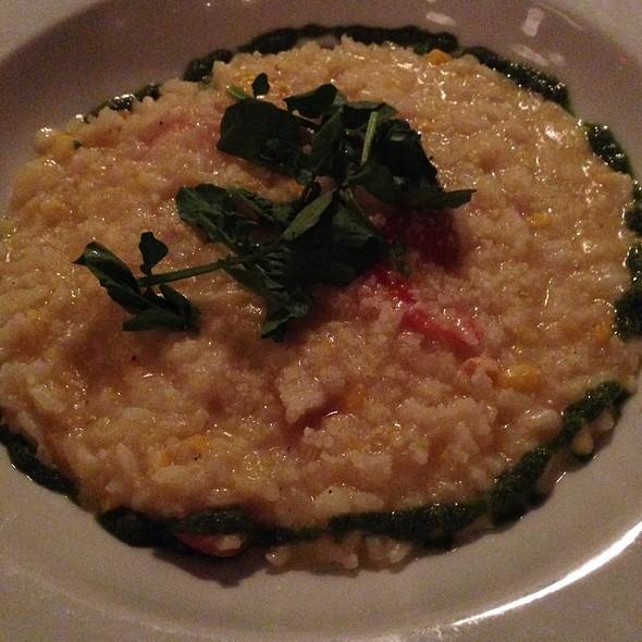 Orient Sweet Corn Risotto - Noah's, Greenport, NY